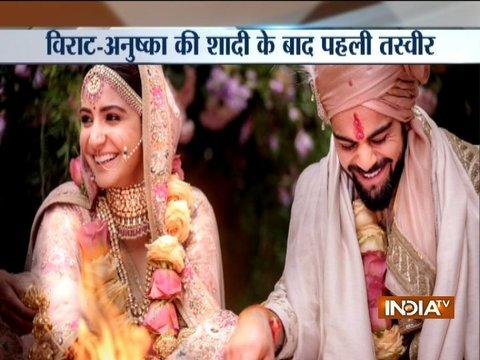 Virat Kohli, Anuskha Sharma get married in Italy, tweet pictures