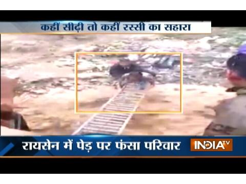 Rescue operation launched to save people struck amid flood in Uttarakhand and MP
