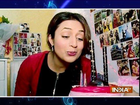 सास बहू और सस्पेंस की टीम ने मनाया दिव्यांका त्रिपाठी का जन्मदिन