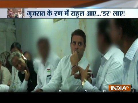 BJP replies to Congress over Rahul Gandhi's video of meeting with traders in Gujarat