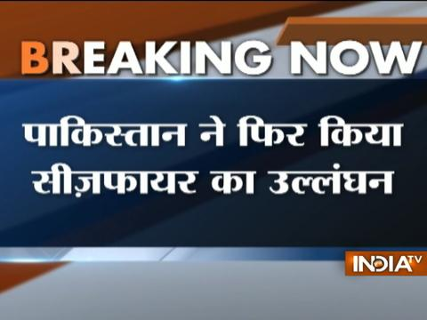 Jammu and Kashmir: Pak violates ceasefire along LoC in Poonch