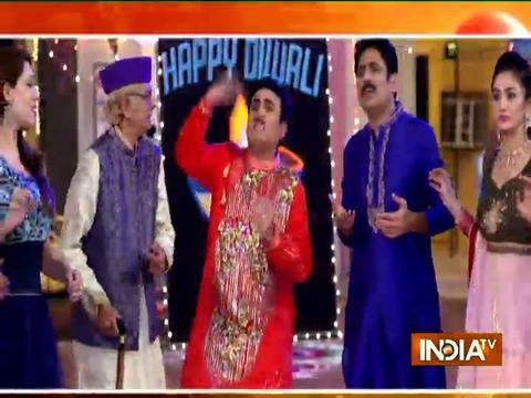Golmaal Again team have a gala time with Taarak Mehta Ka Ooltah Chashmah cast