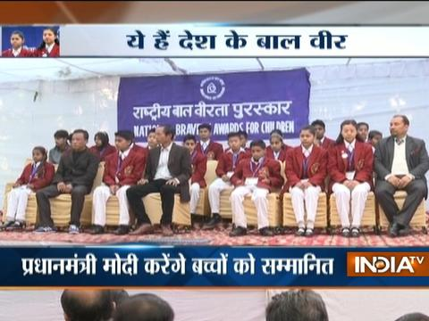 PM Modi to honour 25 kids with bravery award on 26th January