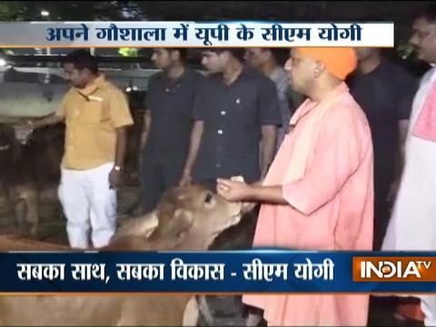 Yogi Adityanath first visit to Gorakhpur after being sworn-in as UP CM