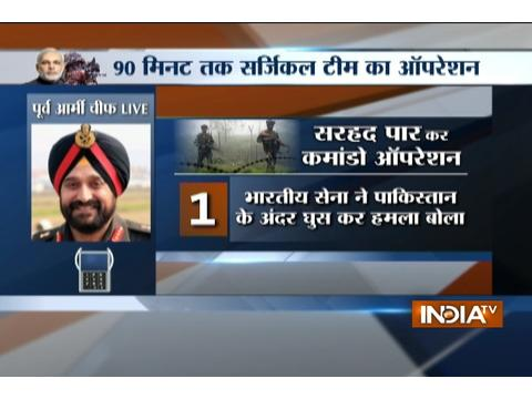 Know how Indian Army conducted surgical strike on terror launch pads along LoC