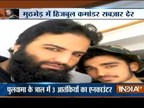 Burhan Wani's successor Sabzar Bhat among 11 militants killed in Kashmir