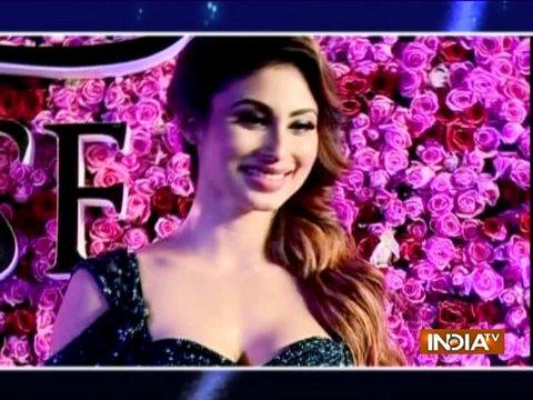 Mouni along with many Bollywood stars grace the Lux Golden Rose Awards