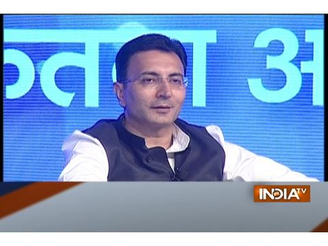 Chunav Manch: Jagdambika Pal, Gaurav Bhatia, Jitendra Prasada at India TV