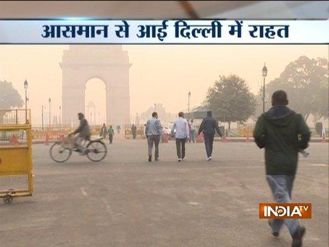 Rain in Delhi-NCR improves Delhi's air
