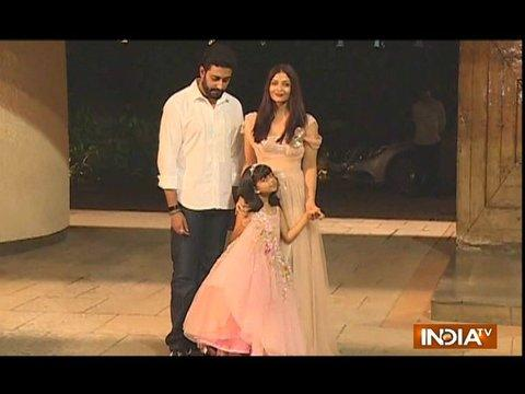 Aishwarya and Abhishek Bachchan's daughter Aaradhya 6th birthday celebration