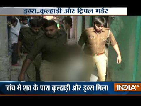 Three bodies,drugs recovered from a house in UP's Jalaun