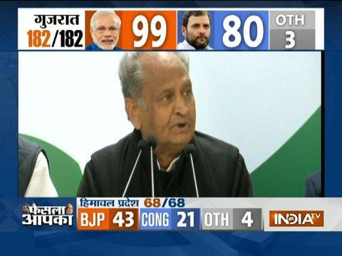 Congress had a very good campaign in Gujarat, Rahul reminded us of Indira, says Ashok Gehlot