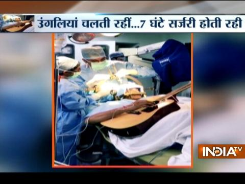 32-year-old Bengaluru man plays guitar while doctors perform surgery on his brain