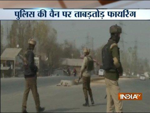 J&K: Terrorists fire upon Police vehicle in Kulgam's Qazigund