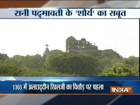 WATCH: Inside strory of Padmavati Chittorgarh Fort