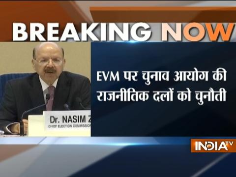 'EVM challenge' to be held from June 3, announces CEC Nasim Zaidi