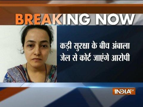 Honeypreet to be produced before Panchkula court today