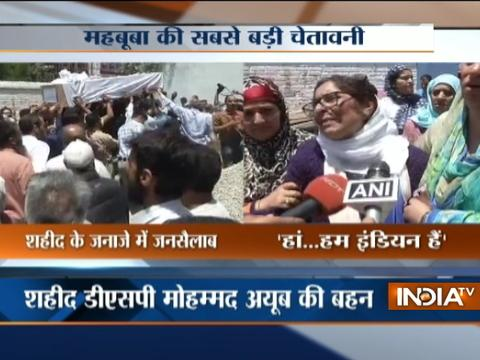 J&K: Family mourns the death of Deputy SP Mohammed Ayub Pandith, beaten to death by mob