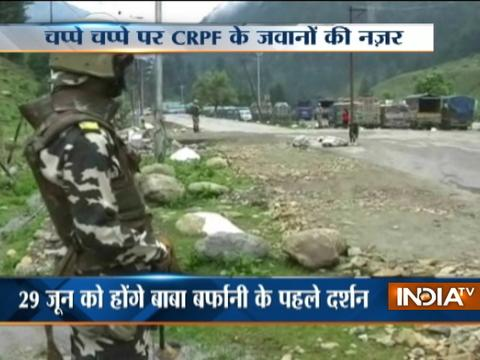 Massive security deployed for Amarnath Yatra 2017
