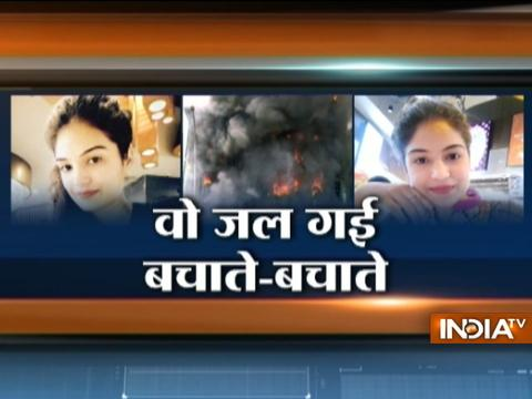 Noida mourns brave Jasmeet who died saving five people from office fire