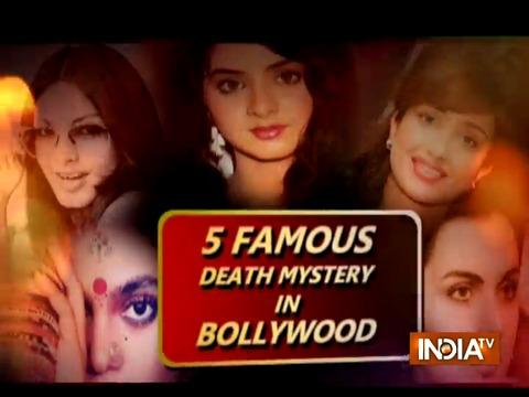 Five mysterious deaths of Bollywood actresses