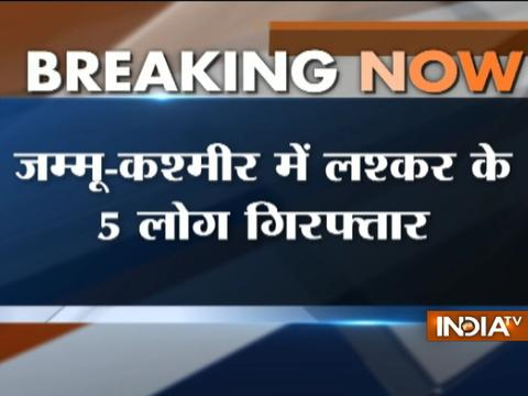 Jammu and Kashmir: 5 LeT over-ground worker arrested in Bandipora district