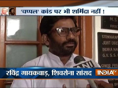 Shiv Sena MP Ravindra Gaikwad attacks Air India staffer with slippers