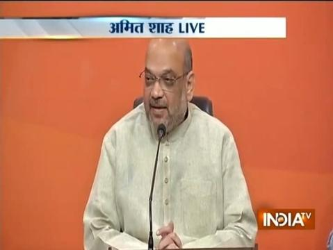 Amit Shah welcomes SC's verdict on Triple Talaq