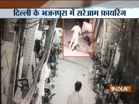 Man shot dead in Delhi, incident caught on camera