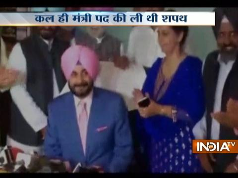 Punjab: Navjot Singh Sidhu takes charge as minister in Chandigarh