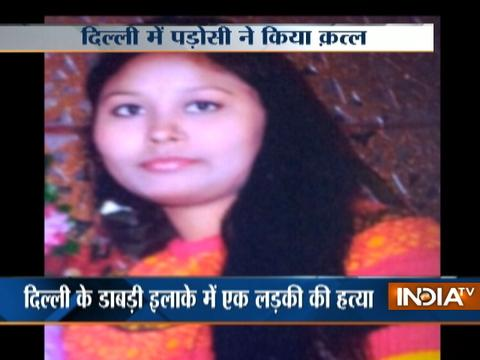 Girl stabbed to death by her neighbour in Delhi, accused arrested
