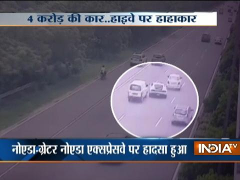 VIDEO: One killed after fatal accident at Greater Noida Expressway