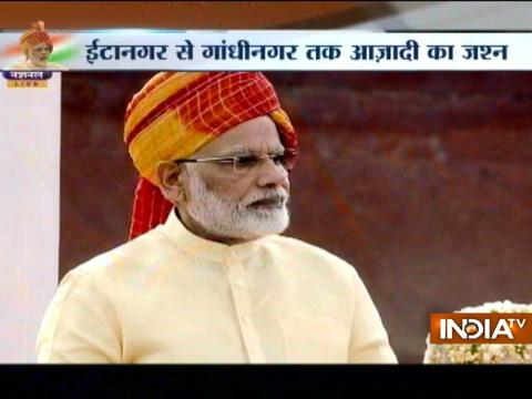Watch Highlights of PM Modi's speech on 71st Independence Day
