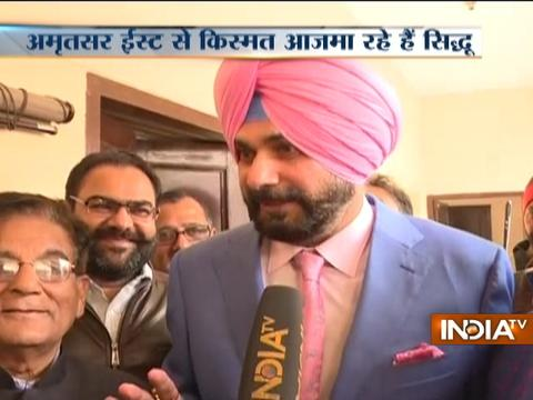 Navjot Singh Sidhu files nomination, will contest election from Amritsar East