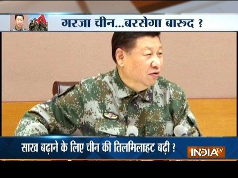 Xi Jinping instructs army to improve its readiness for war