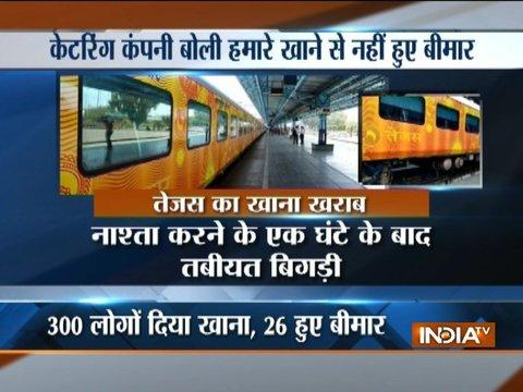 26 passengers hospitalised due to food poisoning on-board Tejas Express train