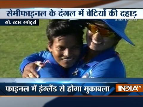 Ind vs Aus, ICC Women's Cricket World Cup : Harmanpreet Kaur powers India into final