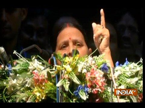 Many in Bihar ready to slit PM's throat and chop his hand, says former Bihar CM Rabri Devi