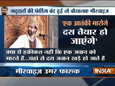 Killing one militant will produce 10 more says senior separatist leader Mirwaiz Umer Farooq
