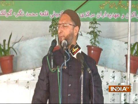 Asaduddin Owaisi hits out at PM, says is Modi PM of India or PM of Hindutva?