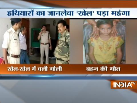 Girl accidentally shot dead by 8-year-old in Madhya Pradesh