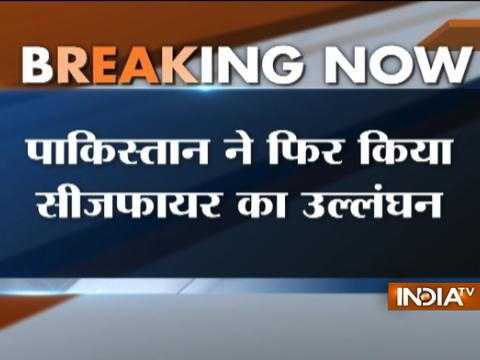 J&K: Pakistan started heavy shelling in Poonch, earlier today