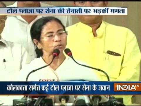 Mamata Banerjee locks herself up in office, refuses to leave until army is