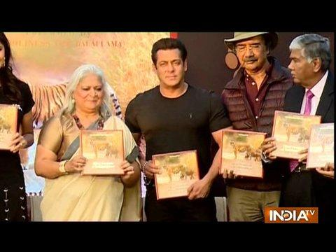 Salman Khan launches Bina Kak's book Silent Sentinels of Ranthambhore