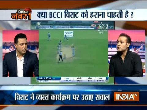 Team India can win the second Test in four days against Sri Lanka: Virender Sehwag to India TV