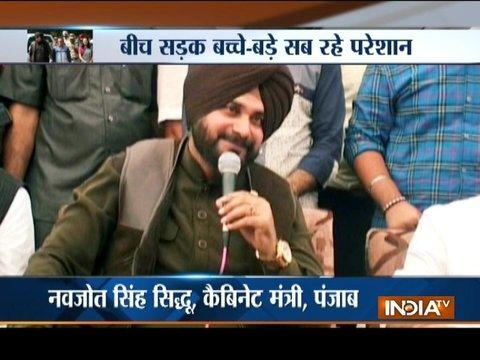 VIP treatment to Sidhu: Roads blocked, shops closed for Punjab Cabinet Minister's arrival in Fazilka