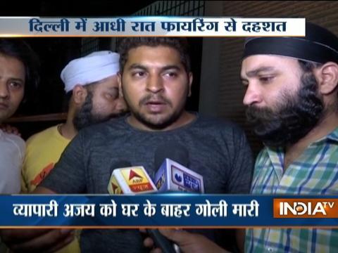 Businessman shot outside his house in Delhi