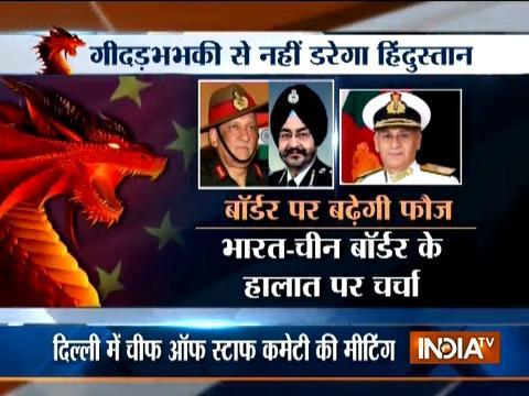 India drafts secret plan to defeat China
