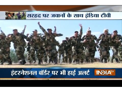 India TV takes note of gruelling training of soldiers in Kashmir