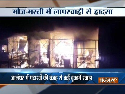 Major fire incidents occur across India on Diwali